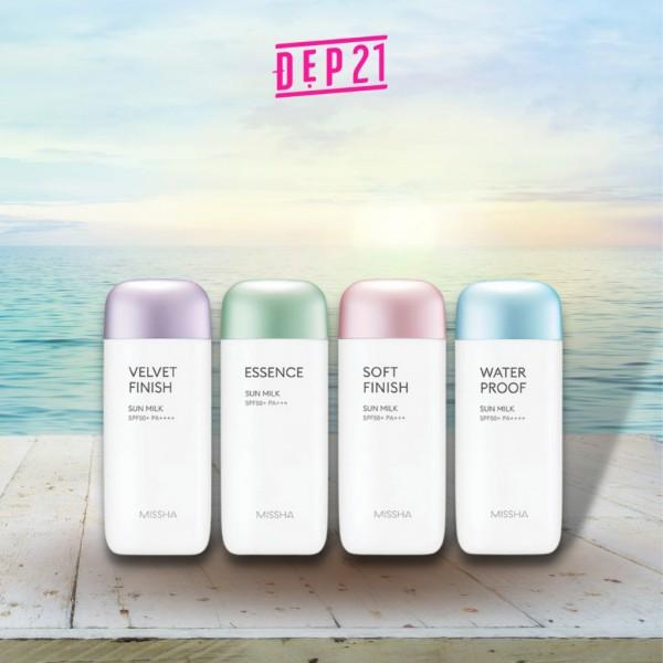 Bảo vệ da ngày hè với 4 phiên bản kem chống nắng Missha dành cho mọi loại da