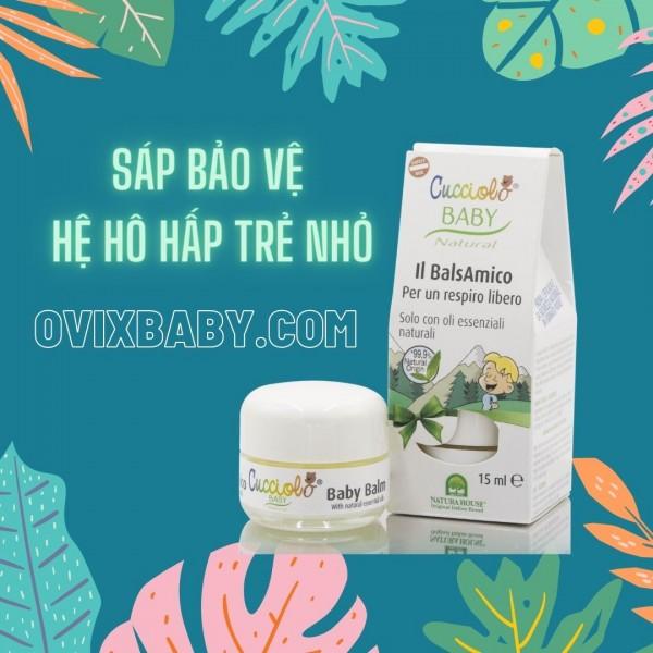 Bảo vệ hệ hô hấp cho bé bằng các sản phẩm giảm ho tự nhiên