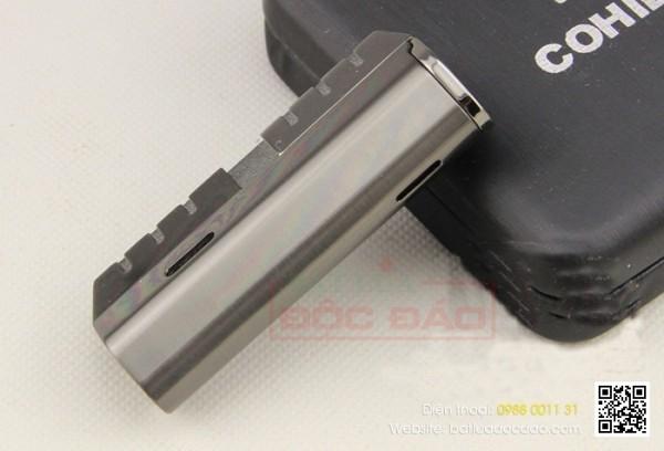 Bật lửa Cohiba chính hãng loại 3 tia cao cấp H089, quà tặng sếp
