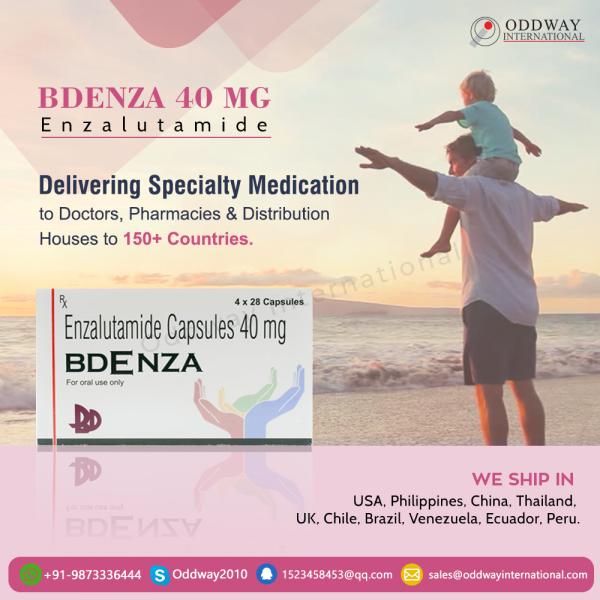Bdenza 40mg Enzalutamide Capsules trực tuyến từ nhà cung cấp thuốc - Oddway International