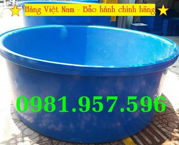 Bể nhựa tròn 1000L, bể nhựa tròn 2000L, bể nhựa tròn 3000L