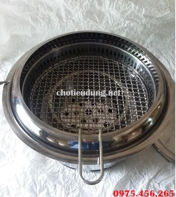 Bếp ( lò ) nướng than hoa âm bàn hút âm giá rẻ tại Hưng Yên