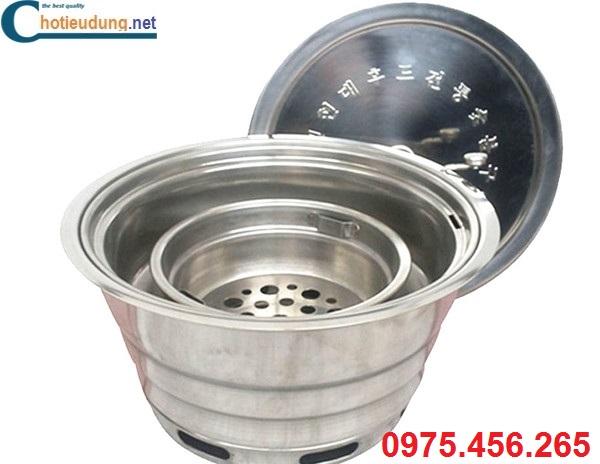 Bếp ( lò ) nướng than hoa âm bàn hút dương tại Thái Bình