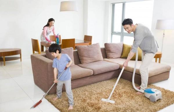 Bí quyết dọn nhà cuối năm đón Tết