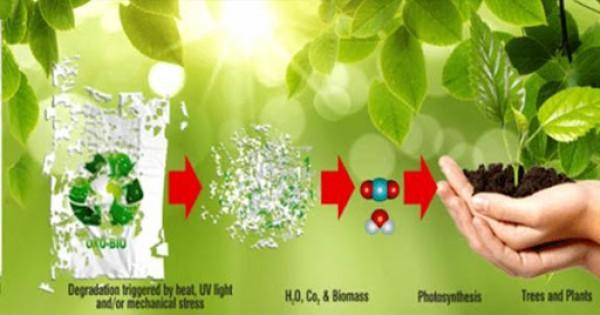 Biến CO2 thành các khối nhựa phân hủy sinh học