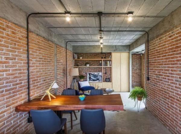 Biến hóa hoàn hảo cho căn phòng cũ thành nơi may vá chuyên dụng