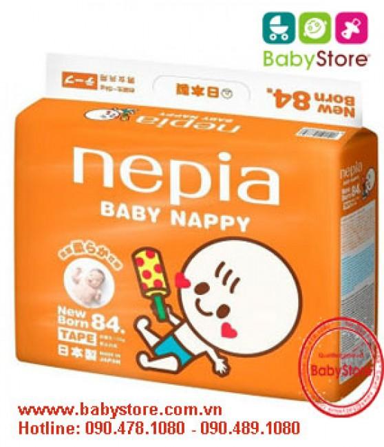 Bỉm Nepia size Newborn NB84
