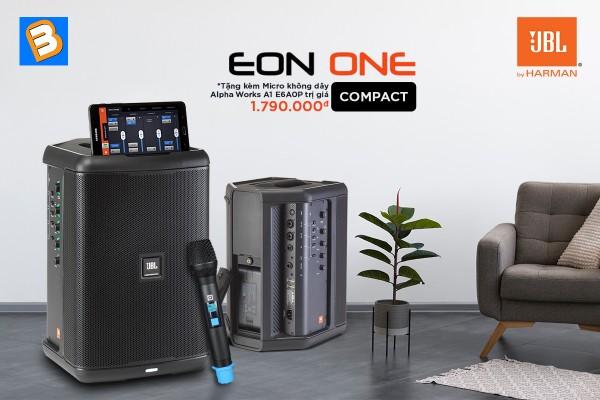 Bình Minh khuyến mãi tháng 3 - Mua loa JBL EON ONE Compact tặng Micro không dây