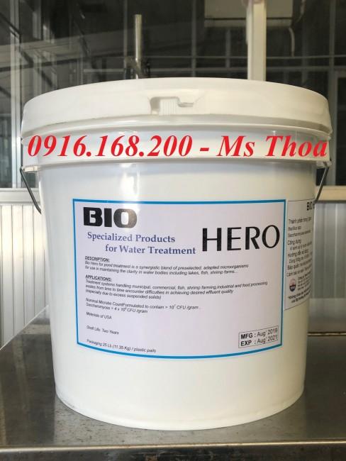 BIO HERO - Vi sinh hạt giúp xử lý đáy ao