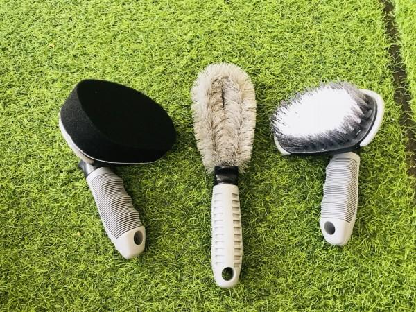 Bộ 3 dụng cụ chăm sóc vệ sinh lốp xe ô tô