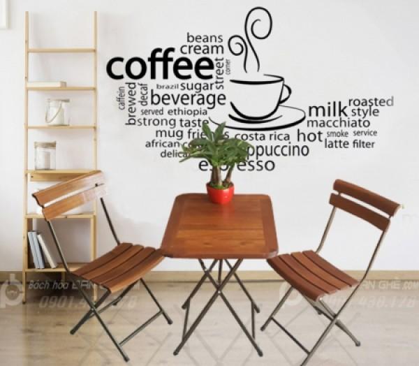 Bộ bàn ghế cafe gỗ, Bàn ghế cafe gỗ khung sắt, Bàn cafe hot trend