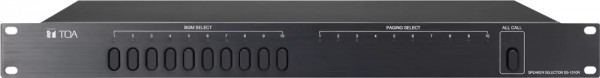 Bộ chọn 10 vùng loa TOA SS-1010R