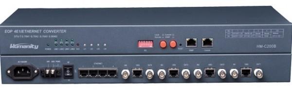Bộ chuyển đổi 4E1 sang 4Ethernet HM-C200B