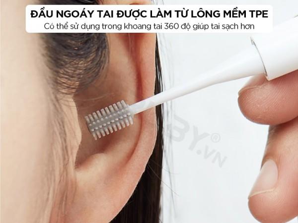 Bộ dụng cụ lấy ráy tai có đèn tiện lợi