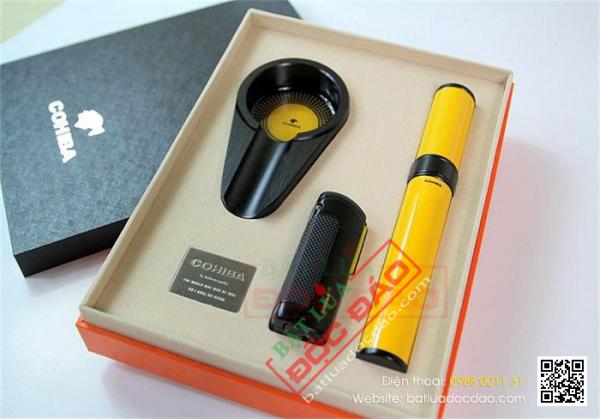 Bộ phụ kiện xì gà Cohiba T308 cao cấp (quà biếu sếp)