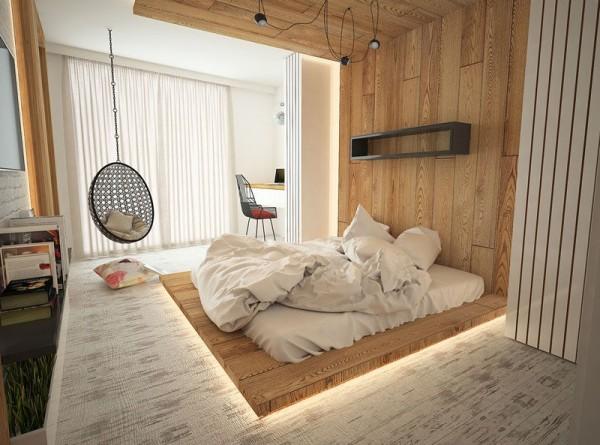 Bố trí phòng ngủ cực đỉnh cho vợ chồng son
