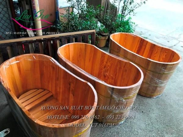 bồn tắm gỗ gia đình giá rẻ