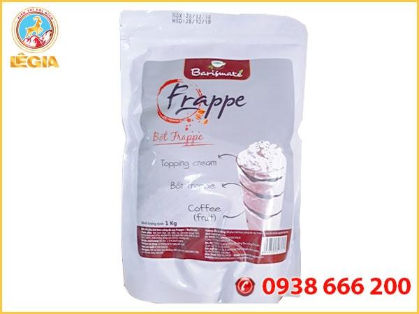 Bột Frappe Đá Xay Barismate Bạc - Frappe Barismate Powder Blended