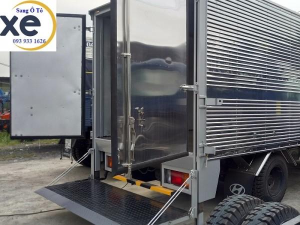 Bửng nâng xe tải, xe tải bửng nâng, chuyên đóng bửng nâng hạ xe tải