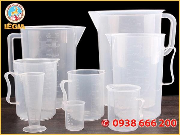 Ca Đong Nhựa 100 ml - Plastic Measuring Pot 100 ml