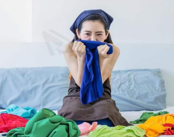 Các biện pháp giúp khử trùng quần áo.