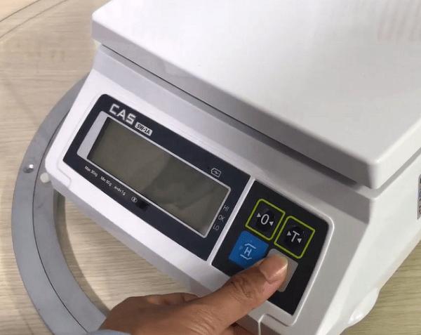 Các loại cân điện tử CAS SW và cách chỉnh cân điện tử đơn giản