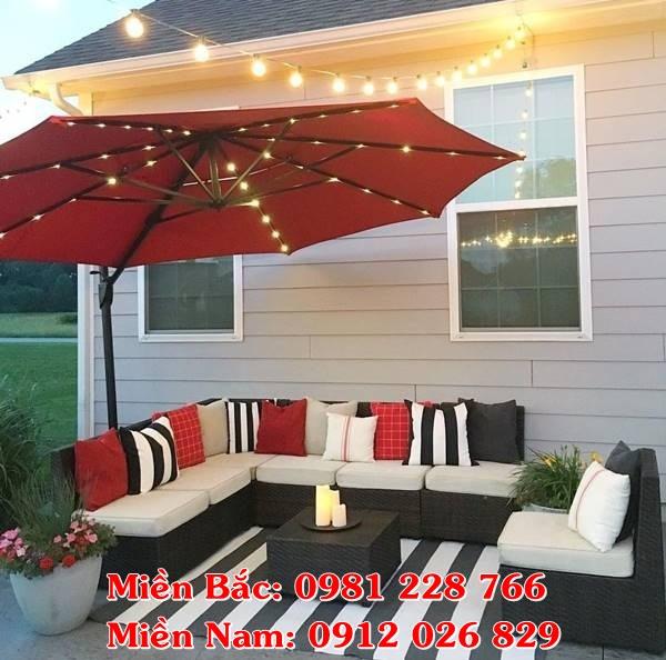 Các loại ô dù sân vườn thông dụng nhất tại Hà Nam