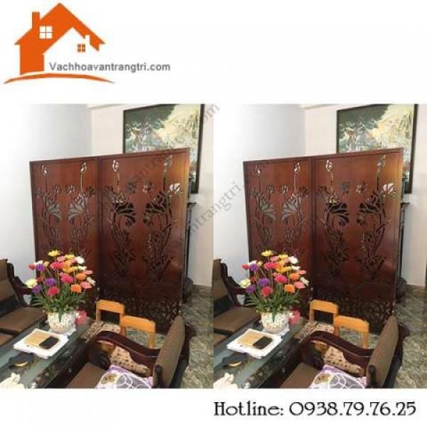 Các mẫu vách ngăn phòng khách cnc bằng gỗ đẹp để trang trí nội thất
