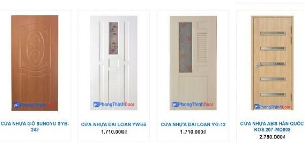 Các ưu điểm của cửa nhựa giả gỗ tại TPHCM