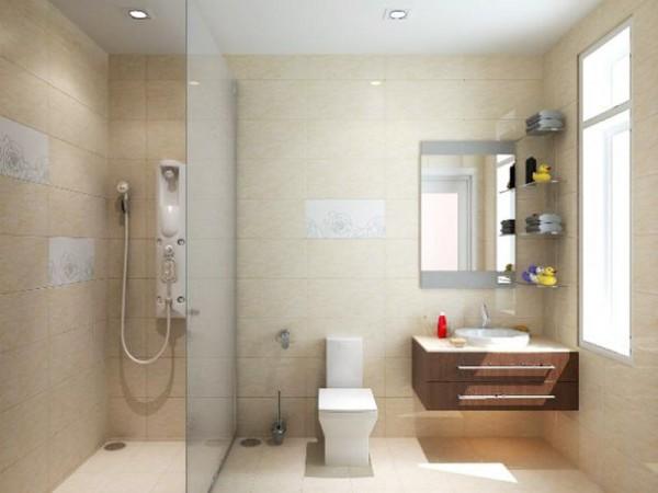 Cách bố trí phòng tắm trở nên rộng rãi hơn