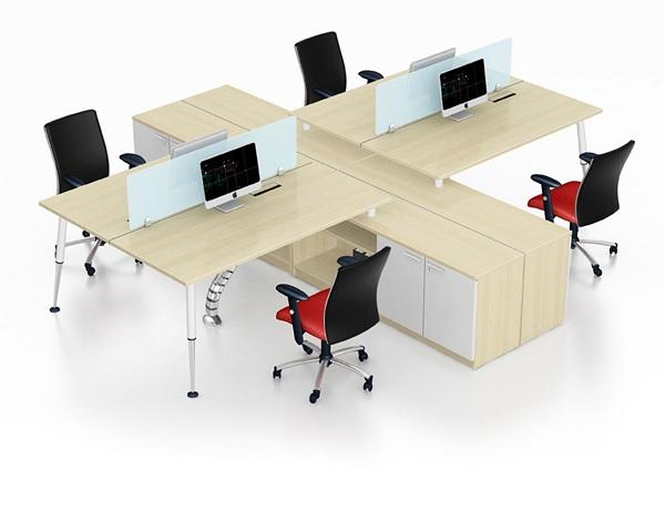 Cách chọn loại bàn ghế làm việc văn phòng thích hợp cho không gian làm việc
