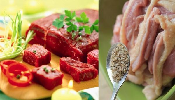 Cách đơn giản giúp chị em khử được mùi hôi của các loại thịt