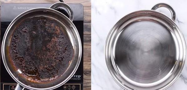 Cách làm sạch xoong nồi bị cháy đen vô cùng hiệu quả