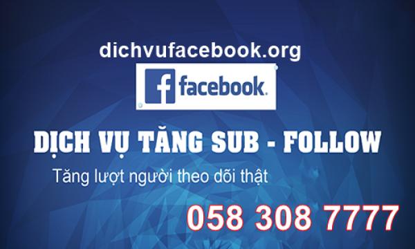 Cách tăng sub thật trên facebook nhanh và hiệu quả nhất