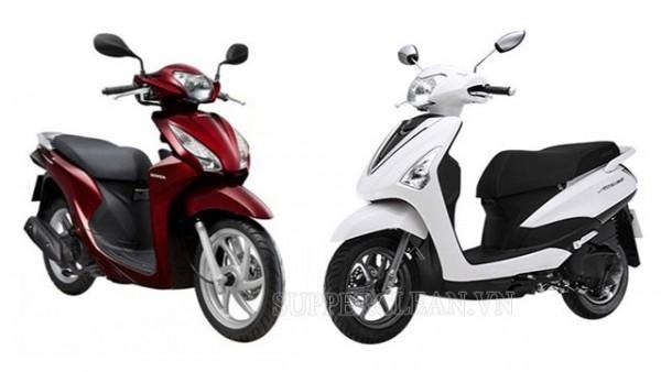 cách thức mua xe máy tại Honda và Yamada