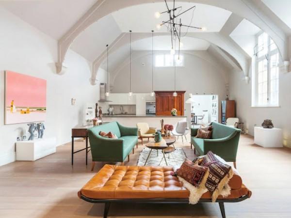 Cải tạo căn hộ theo phong cách chiết trung đầy cảm hứng
