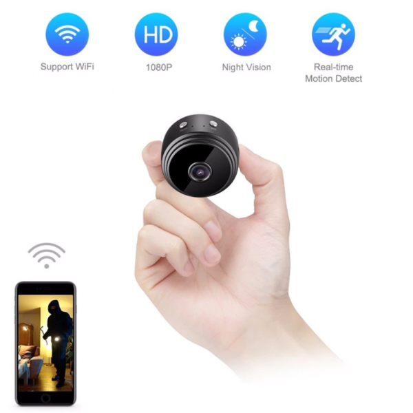 Camera mini A9 Wifi chất lượng cao Full HD