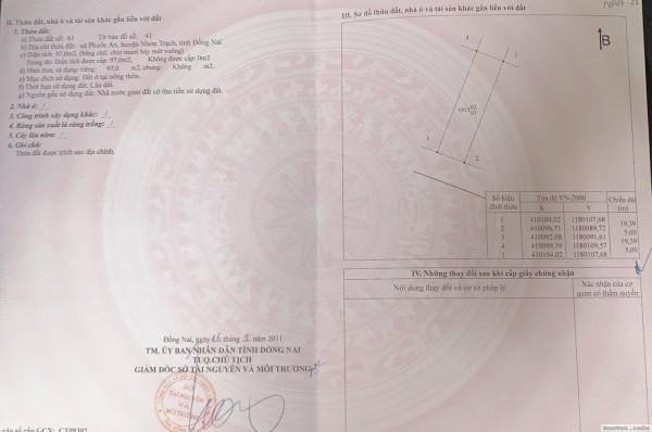 Cần Bán Đất Nền Giá Tốt Tại Nhơn Trạch - 0941.319.399