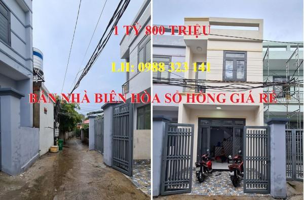 Cần bán nhà phố Biên Hòa sổ hồng giá rẻ