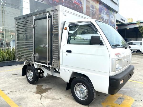 Cần bán xe Suzuki Carry Truck Đời 2021 Tải trọng 490kg Se sẵn giao ngay Ưu đãi mùa dịch