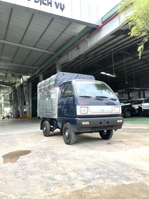 Cần bán xe Suzuki Carry Truck Đời 2021 Thùng mui bạt tải trọng 490kg Giá 250tr