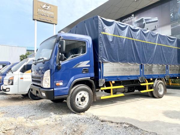 Cần bán xe tải Hyundai Ex8GTL 2020 Thùng Mui Bạt 5.9m Xe sẵn giao ngay 0908981927