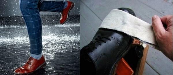 Cần chú ý bảo quản và sử dụng giày da