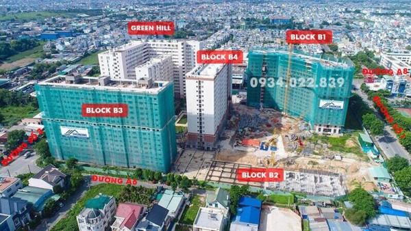 Căn hộ CC ở liền giá rẻ Green Town Bình Tân 52,7m2-1,4 tỷ nhận nhà ở liền. LH: 090.234.2709