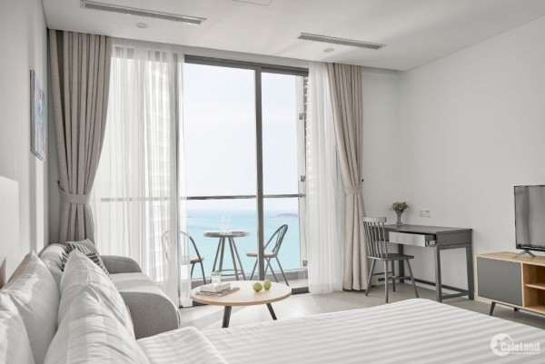 Căn hộ View Biển Mặt tiền Trần Phú Nha Trang, Thanh toán 30% nhận nhà