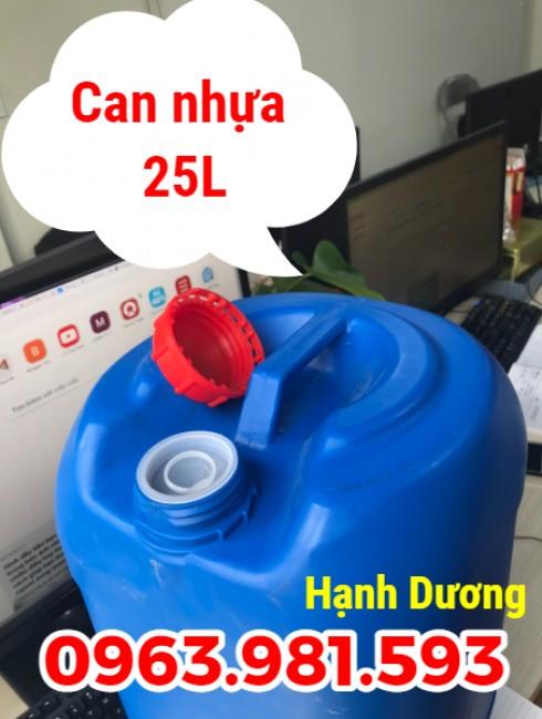 Can nhựa 25L, can nhựa HDPE