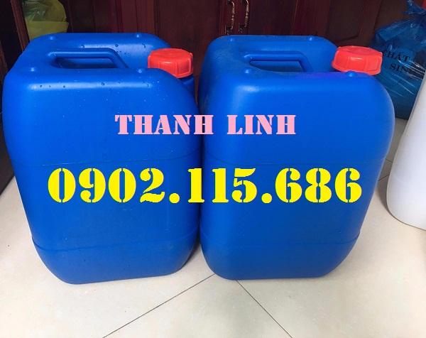 Can nhựa đựng hóa chất từ nguyên liệu HPDE nguyên sinh