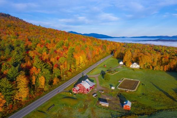 Cảnh sắc rực rỡ, đắm say lòng người của mùa thu nước Mỹ