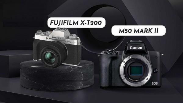 Canon EOS M50 Mark II vs Fujifilm X-T200: Chúng khác nhau như thế nào?