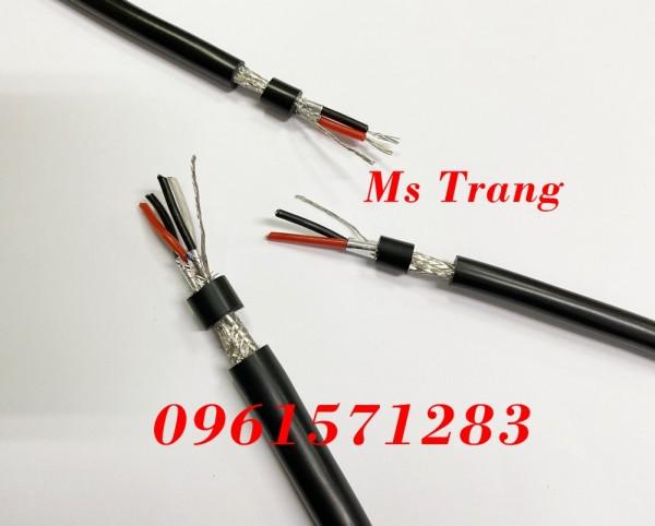 Cáp chuẩn RS485 quy cách 1 pair 18awg – 22awg- 24awg